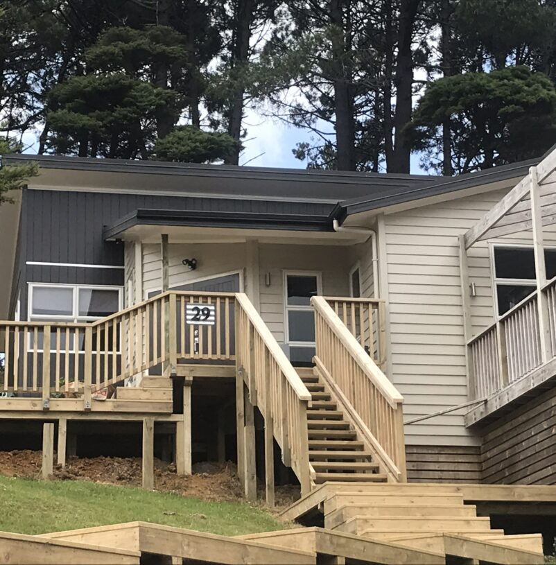 West Auckland exterior painting